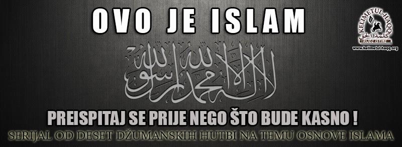 audio i video predavanja Ovo je Islam